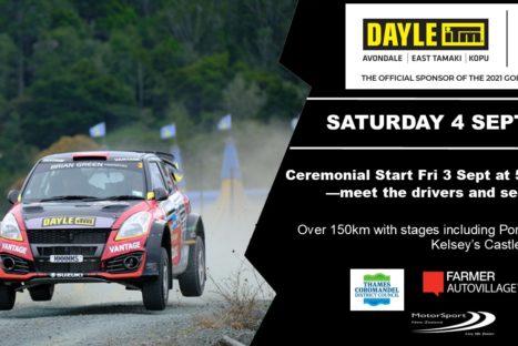 Rnd5   Dayle ITM Goldrush Rally of Coromandel