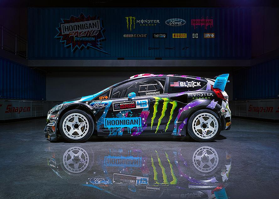 Ken Block returns to New Zealand rally stages