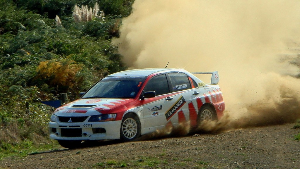 "The old Evo9 RS that ""tripped up""."
