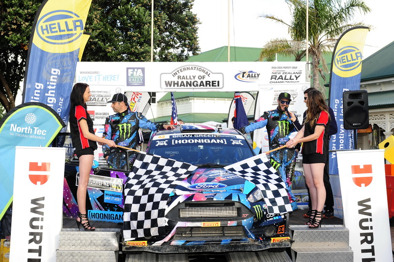 Block wins Rally Whangarei