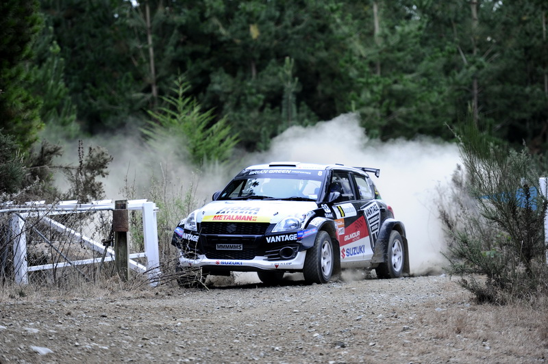 Disappointing early end to Otago rally for Gilmour