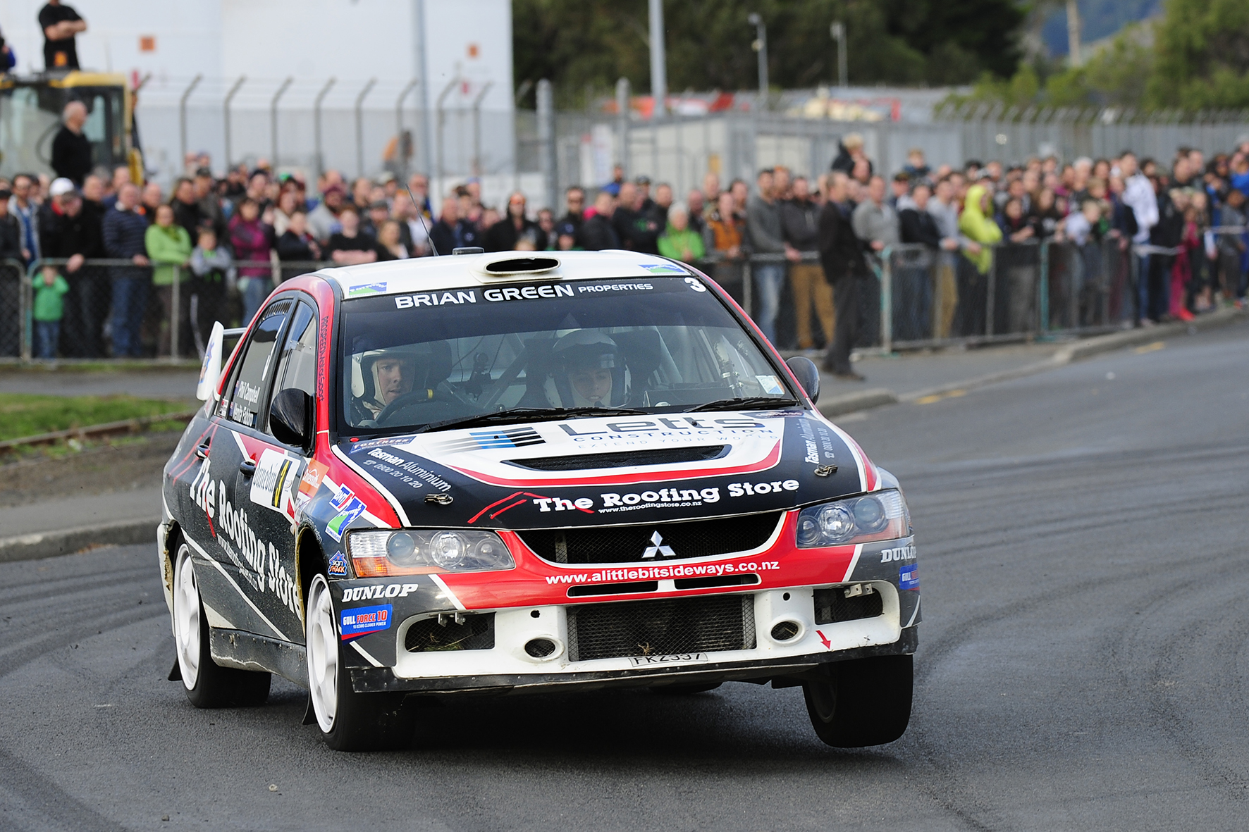 Campbell leads after dramatic opening day at Otago Rally