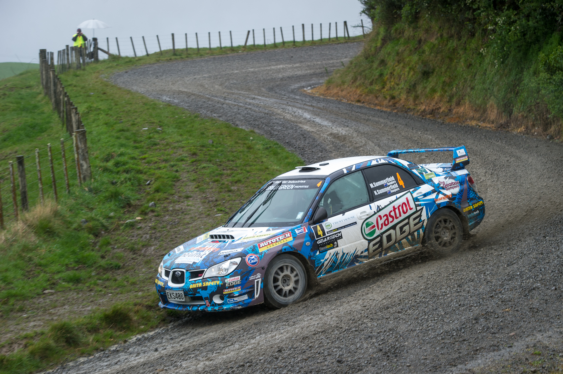 Summerfield claims maiden NZRC round win