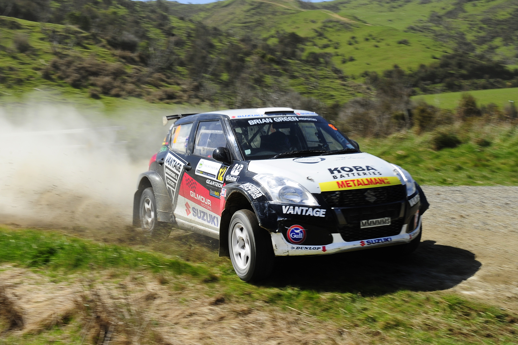 Podium for Gilmour at Wairarapa