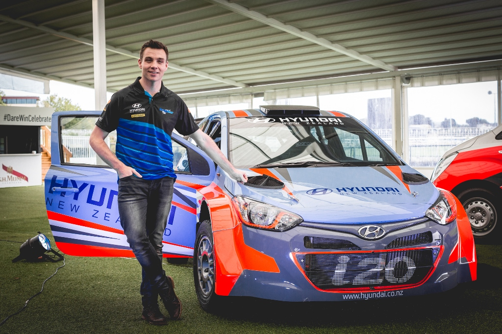 Hyundai New Zealand enters local rally sport with Paddon