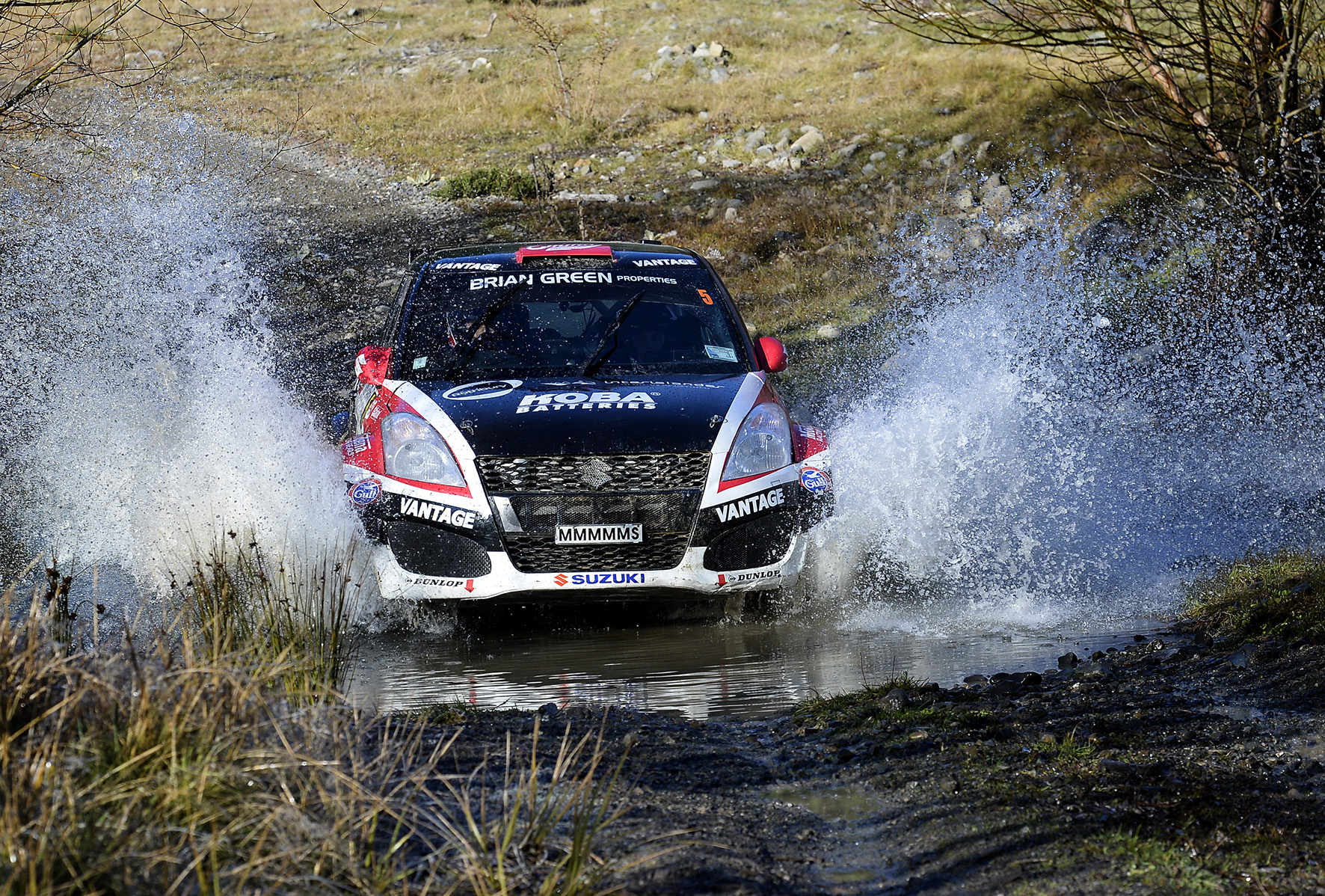 Emma wins challenging Canterbury Rally
