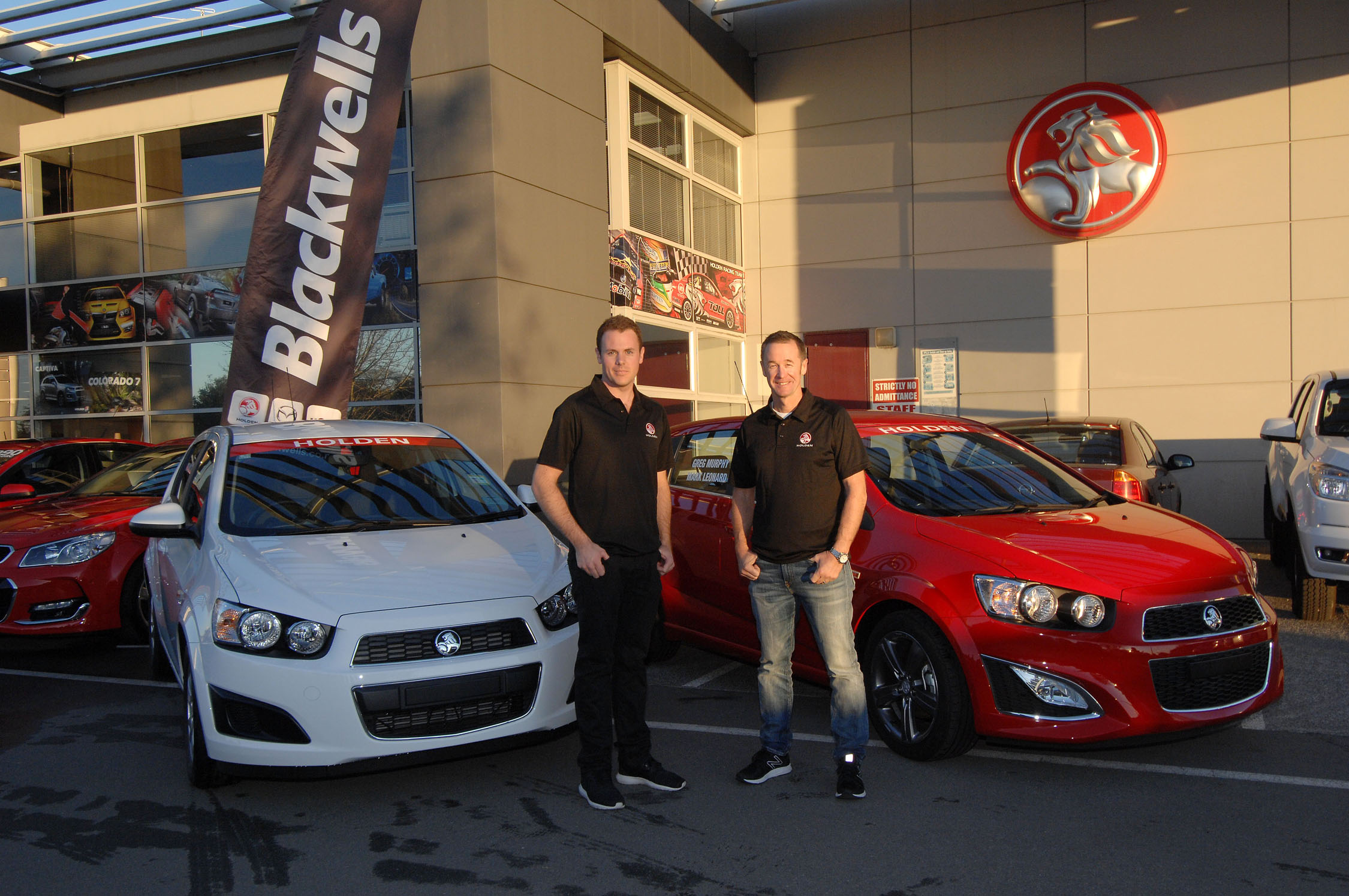 Murphy and Holden announce a two AP4 car rally program for 2017