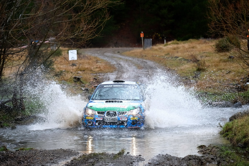 Summerfield wins in treacherous Canterbury Rally