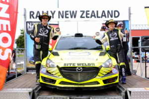 Paddon's Rally, Hawkeswood's title