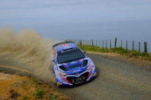 Paddon leads after opening day as Bligh claims Gull Rally Challenge