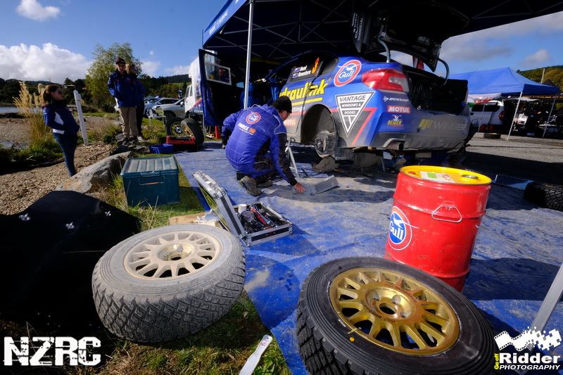 From the Service Park….Rally Otago