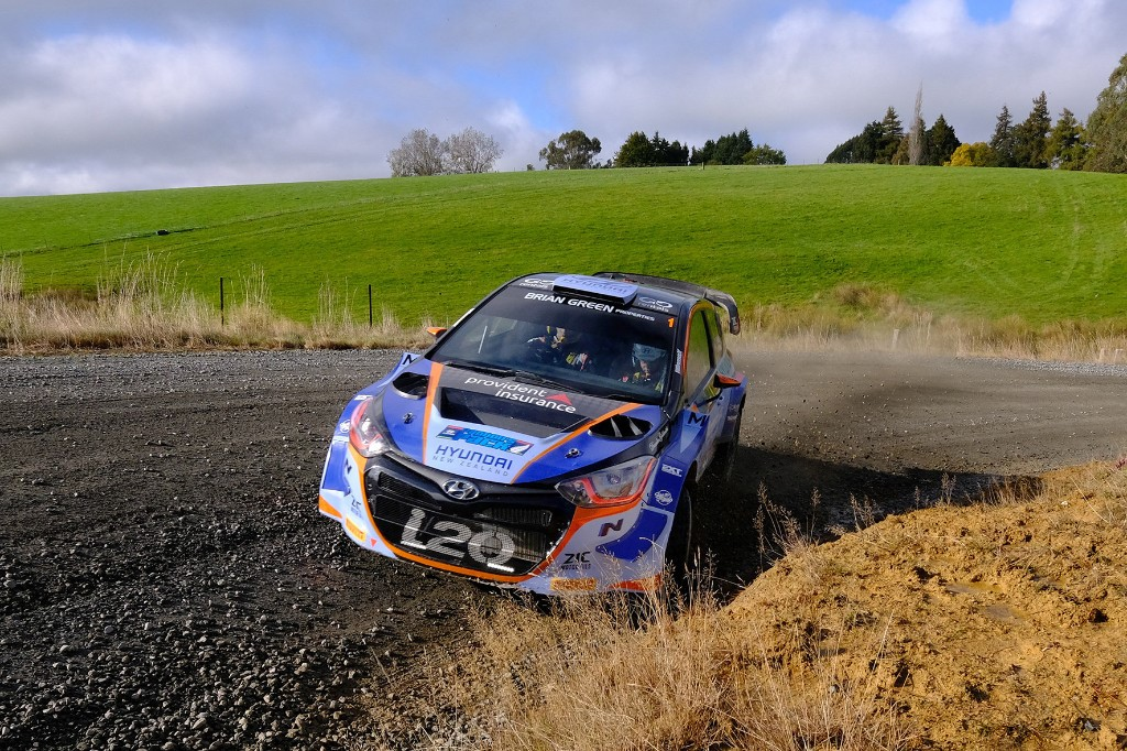 Paddon in control after day one