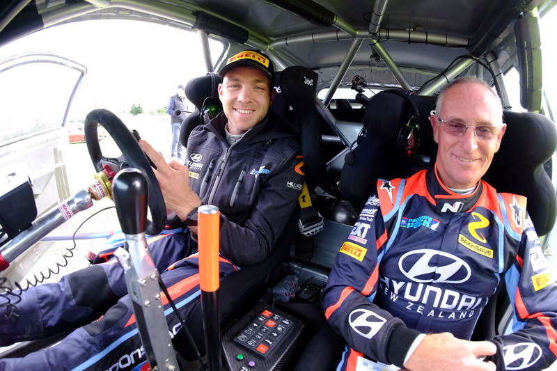 New co-driver for Paddon in Whangarei