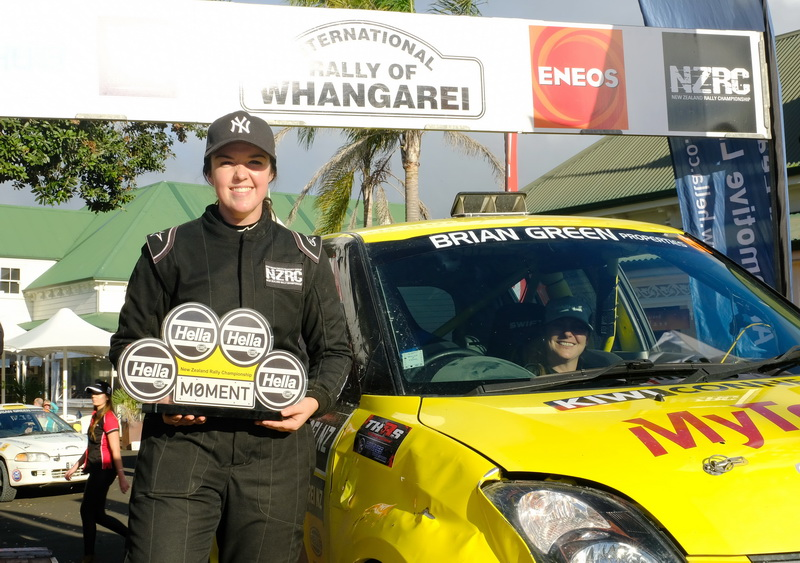 Suzuki driver Amy Keighley | Hella Moment of the Rally