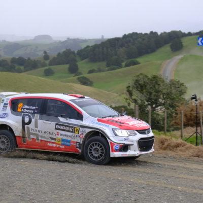 Josh Marston is seeking a podium at Rally Canterbury. Photo / Geoff Ridder