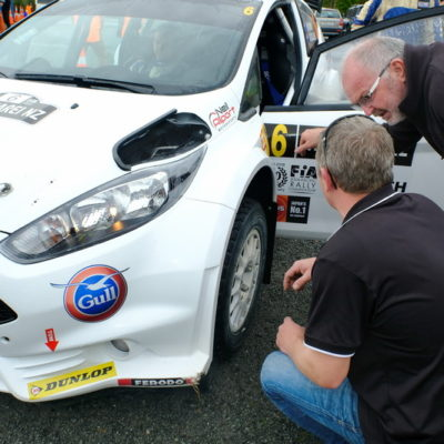 Neil Allport will be at Rally of South Canterbury in his Ford Escort. Photo / Geoff Ridder