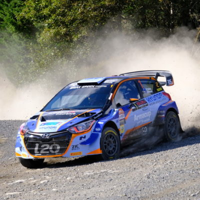 Hayden Paddon returns to roads he grew up on this week. Photo / Geoff Ridder
