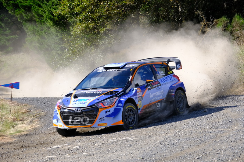 Battered body, championship not on Paddon's mind