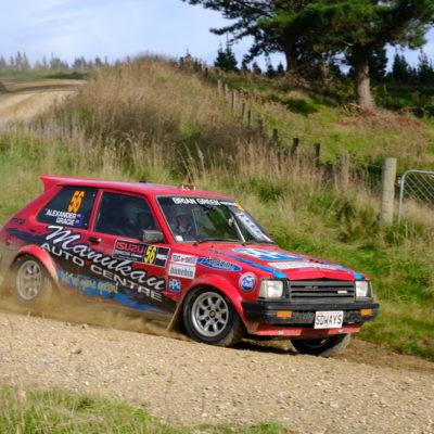 Daniel Alexander will drive a different car at Timaru. Photo / Geoff Ridder