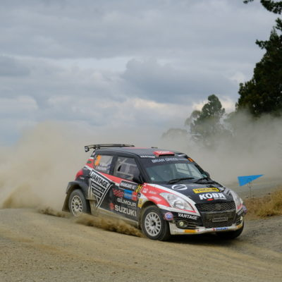 Emma Gilmour will look to bounce back at Rally South Canterbury. Photo / Geoff Ridder