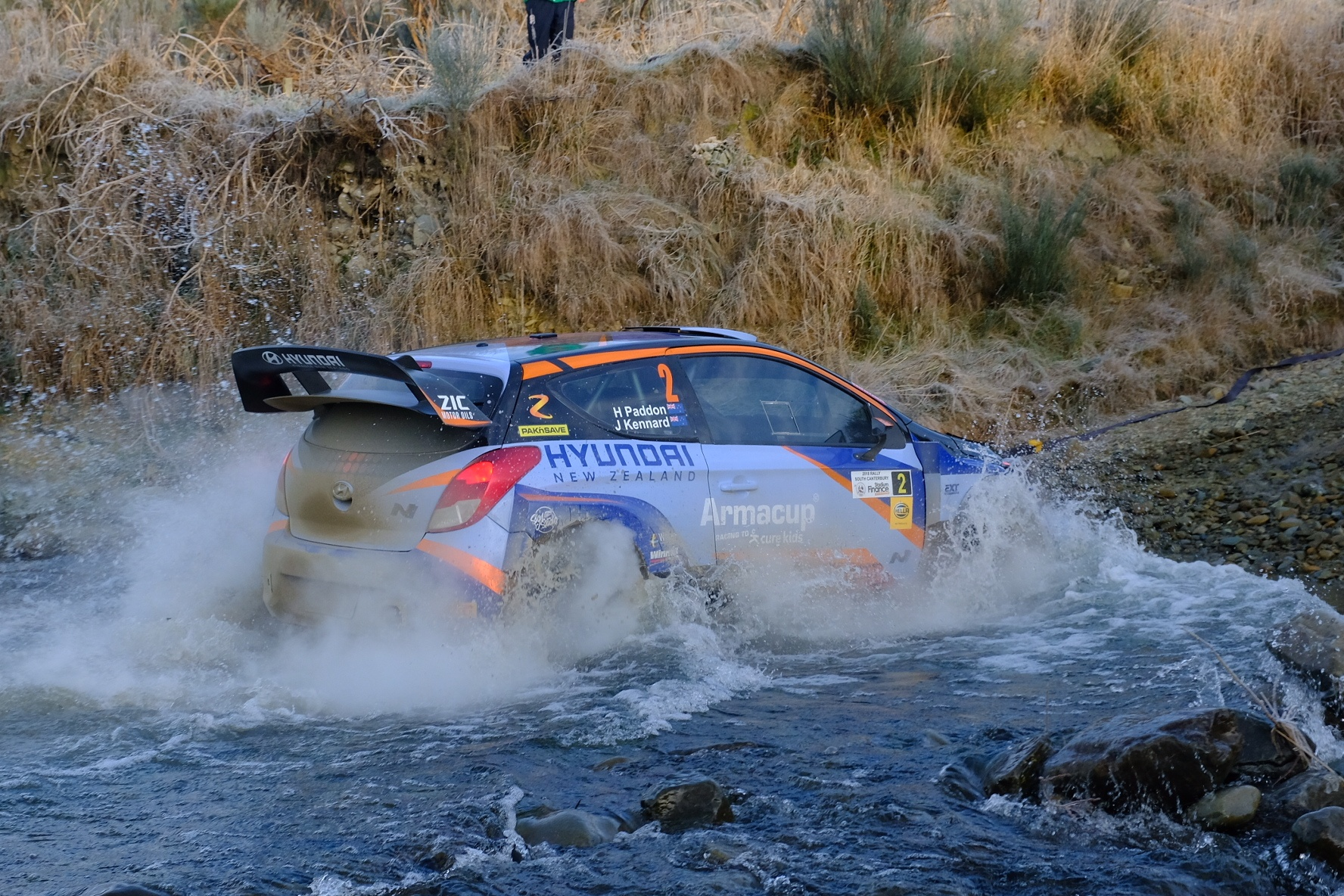 Paddon tames ice and speed for Stadium Finance Rally South Canterbury win