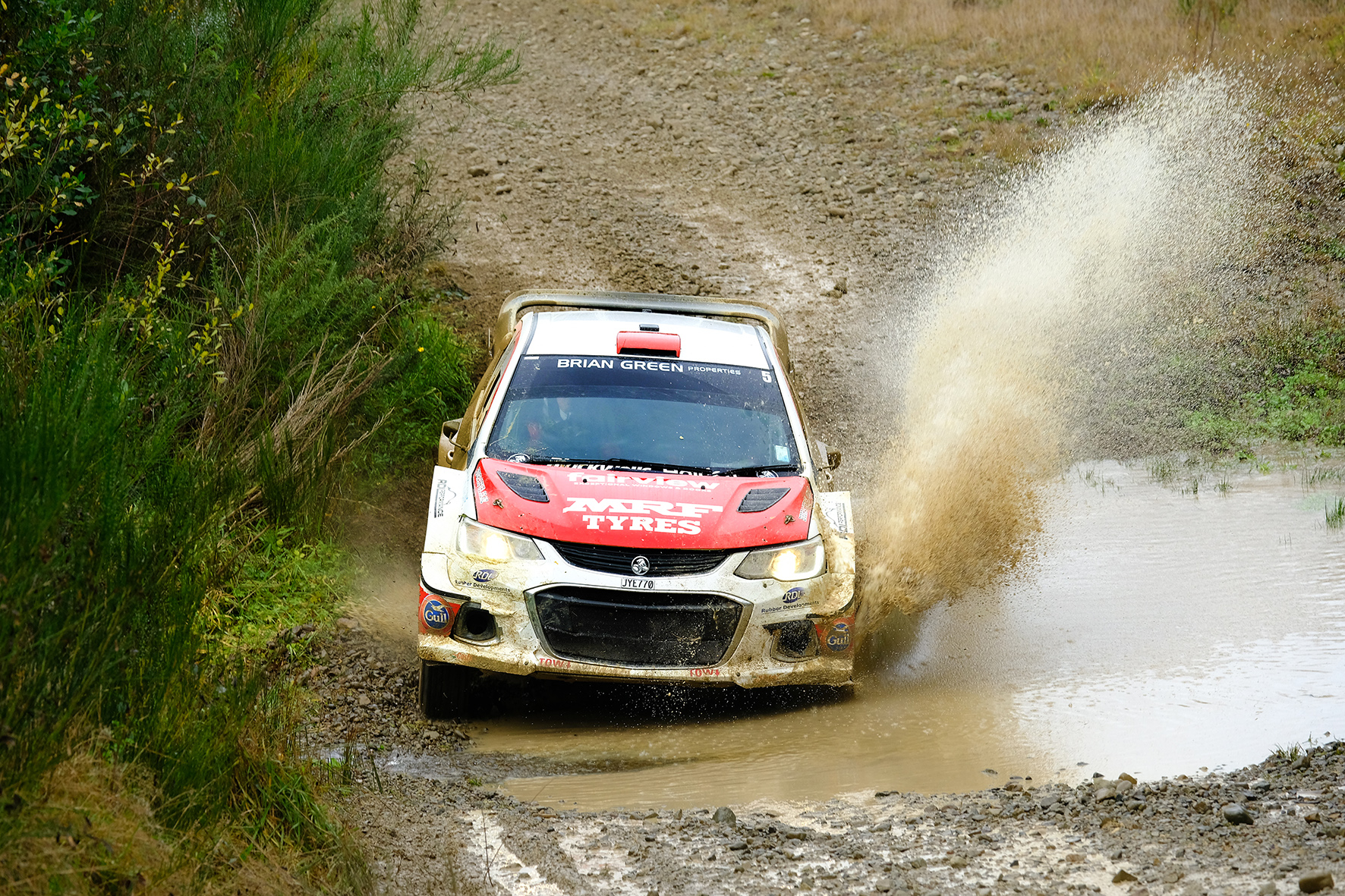 Marston grabs stunning win at drama-filled Lone Star Rally Canterbury
