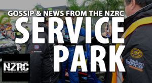 From the Service Park – City of Auckland Rally/Battle of Jacks Ridge