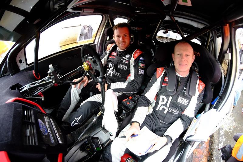 Graves holds narrow lead in fierce co-driver battle