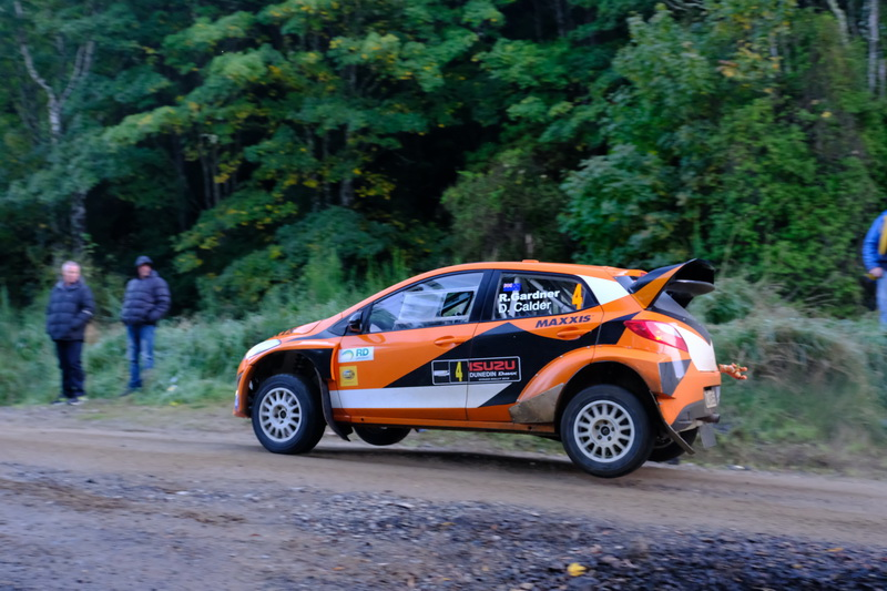 Gardner uses rally experience to help improve tourist driving