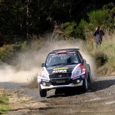 Emma Gilmour competes during Rally Otago. Photo / Geoff Ridder