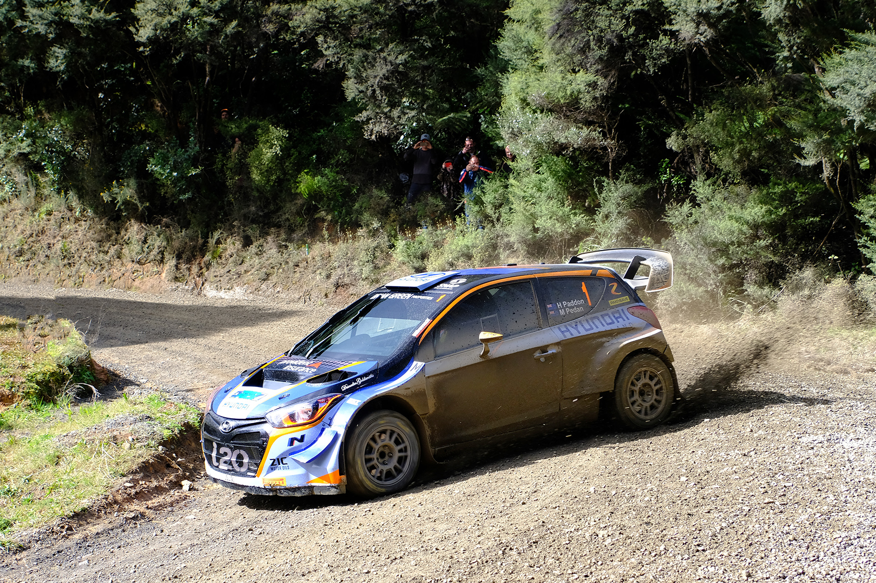 Paddon secures NZRC title at Coromandel