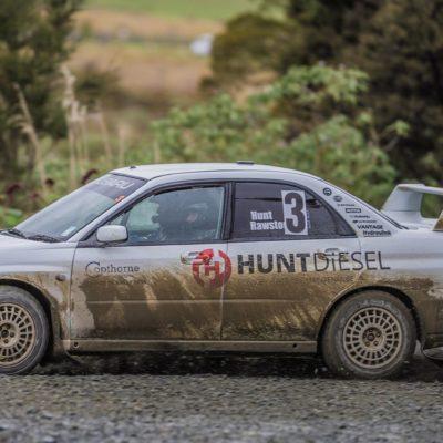 Nathan Quinn will drive Ben Hunt's older model Subaru.