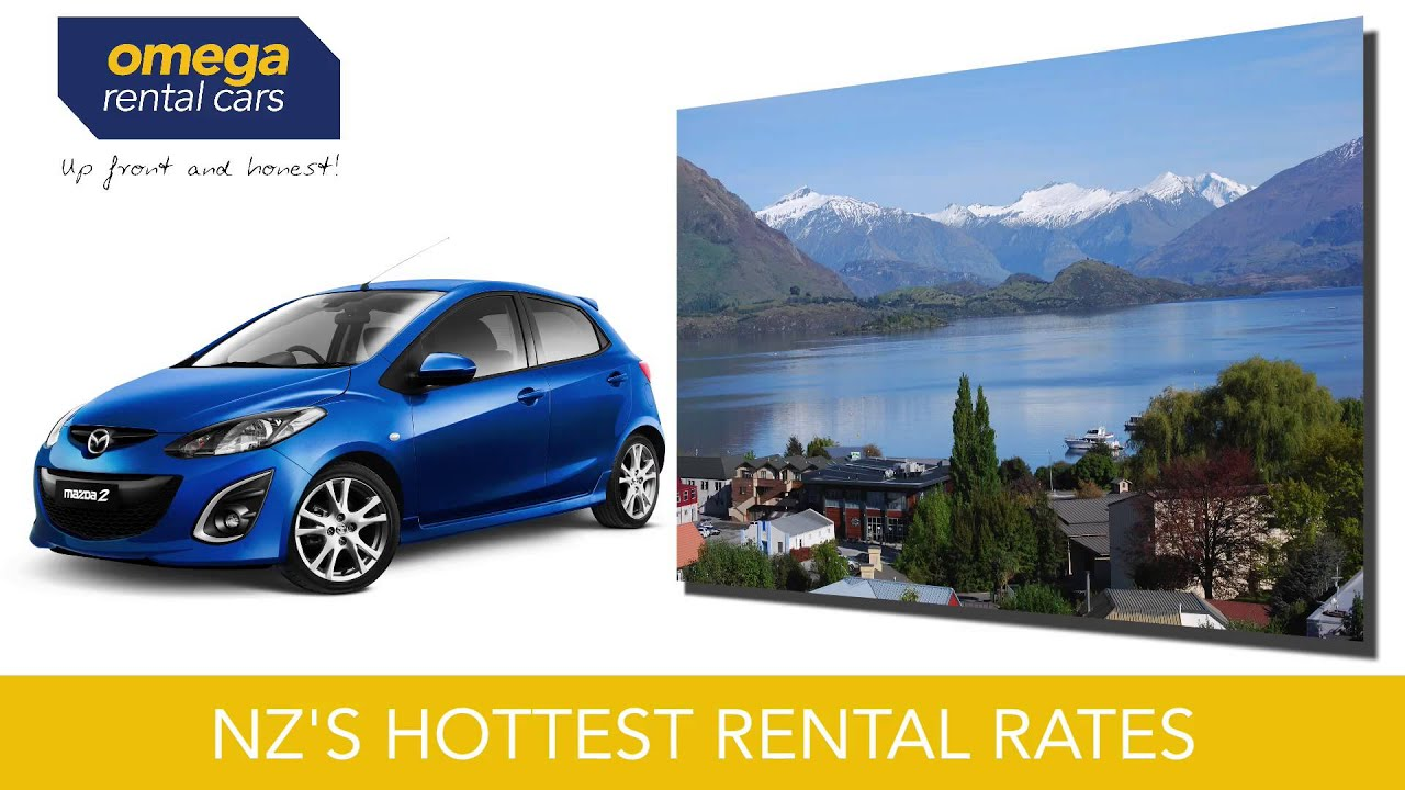 Omega Rental Cars supporting Rally New Zealand