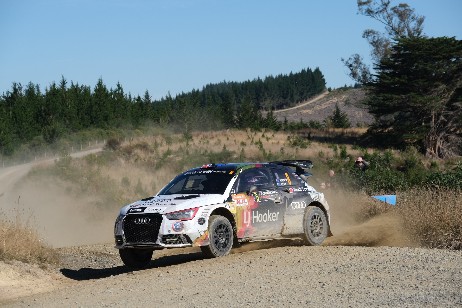 Turner takes Saturday honours at Rally Otago