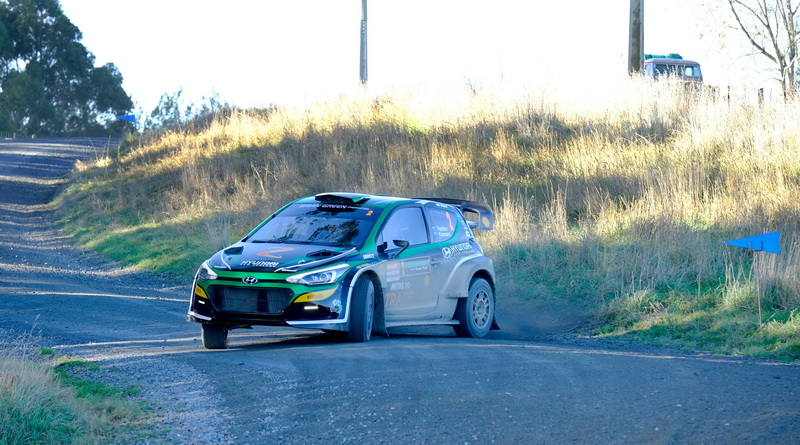 Paddon survives carnage to win Otago