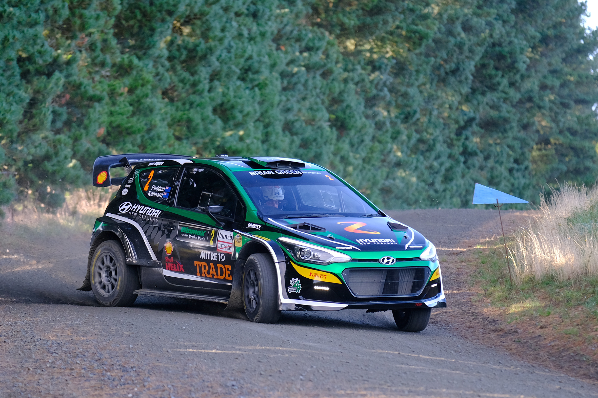 Paddon in control as Turner pips Stokes