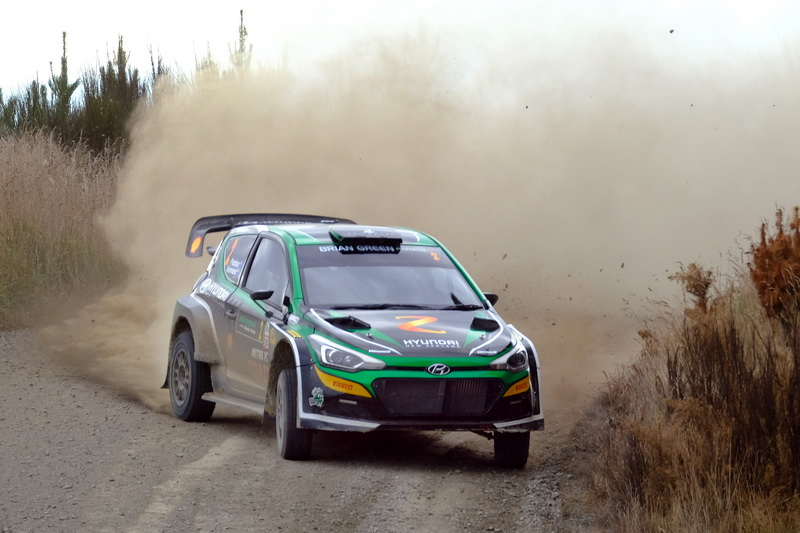 Paddon goes fastest in Pohe Island stages
