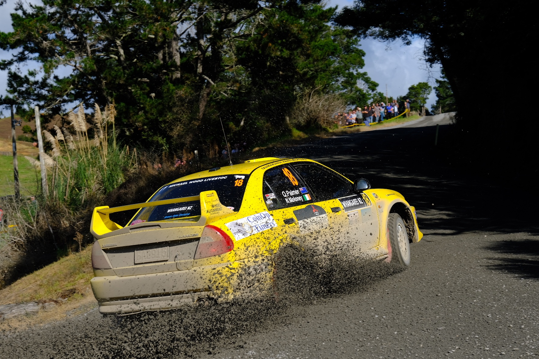Palmer eases to Rally Challenge win