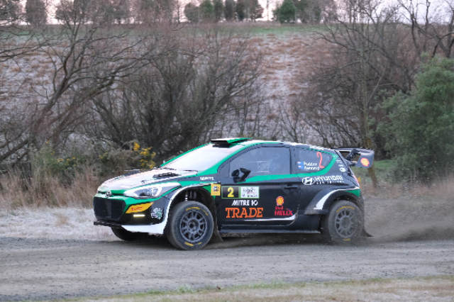 Paddon masters South Canterbury in drama-filled day