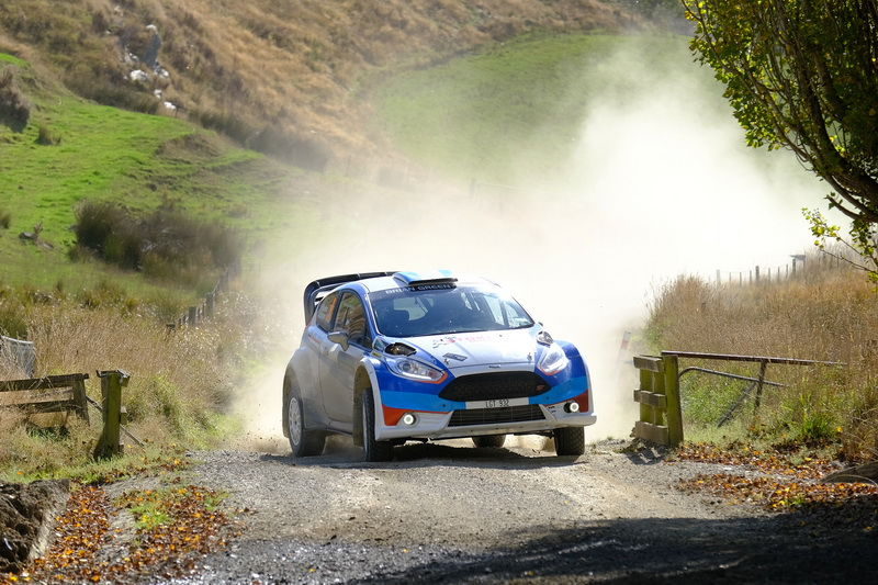 Can the pack catch Paddon in South Canterbury?